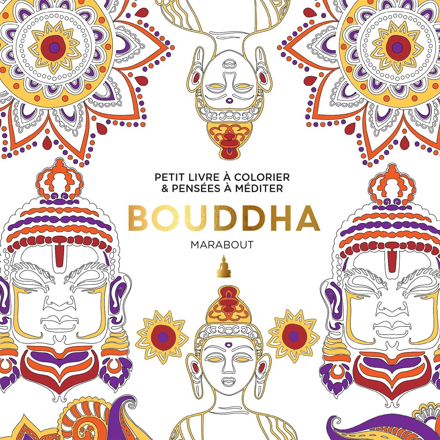 Petit livre  colorier Bouddha