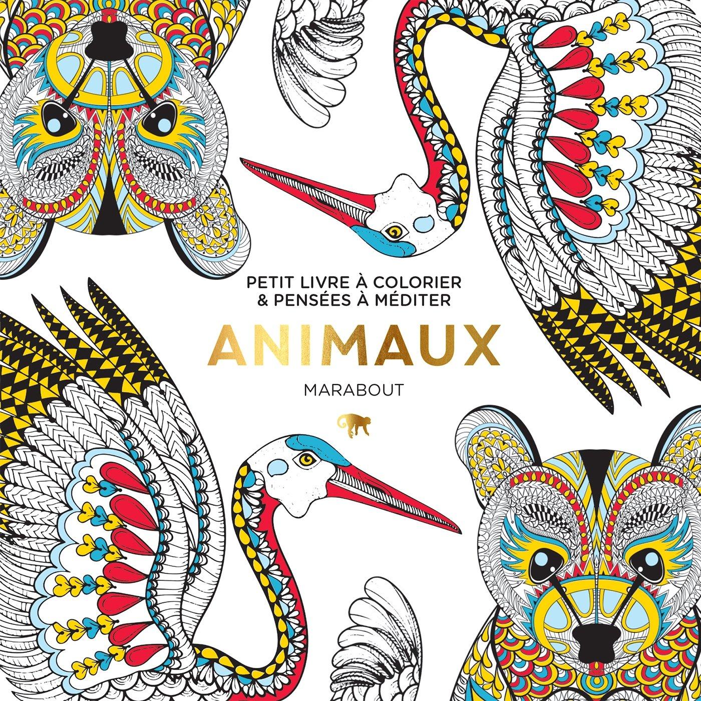 Petit livre  colorier Animaux
